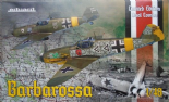 EDK11127 1/48 Barbarossa Ltd Edt - Messerschmitt Bf-109E and Bf-109F-2